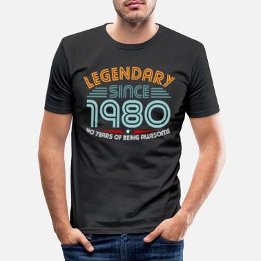 40th Birthday 40th birthday - Men's Slim Fit T-Shirt