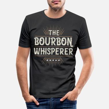Whisky Whisky Whisky Scotch Single Malt Bourbon Gave - Slim fit T-shirt mænd