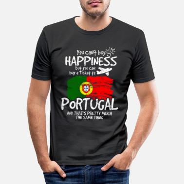 Portugal Portugal - Männer Slim Fit T-Shirt