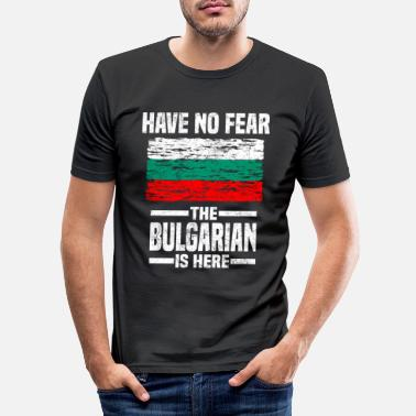 Bulgarije Bulgarije - Mannen slim fit T-shirt