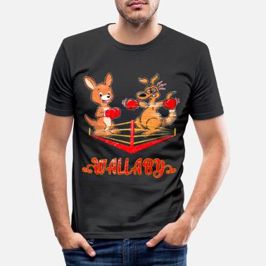 Marsupial Marsupiaux Wallaby - T-shirt moulant Homme