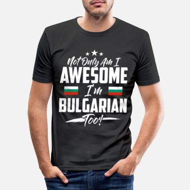 Payer Bulgarie pays et pays - T-shirt moulant Homme