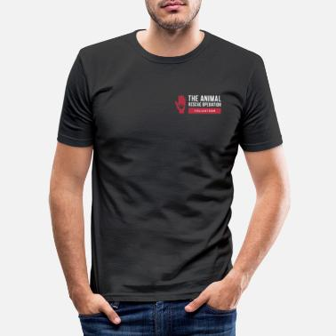 Animal Rescue The Animal Rescue Operation - Men's Slim Fit T-Shirt