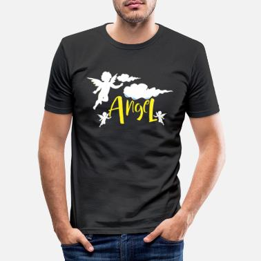 Ängel ängel - T-shirt slim fit herr