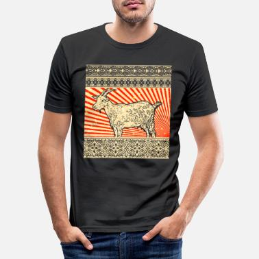 Goat Goat goat - Men's Slim Fit T-Shirt