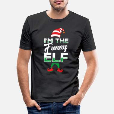 Elf Elf elf Christmas - Men's Slim Fit T-Shirt