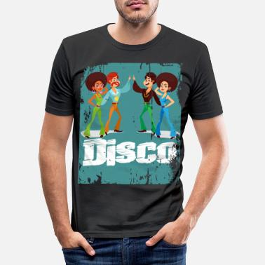 Discothek Disco Groove Funk 70s 80s - Men's Slim Fit T-Shirt