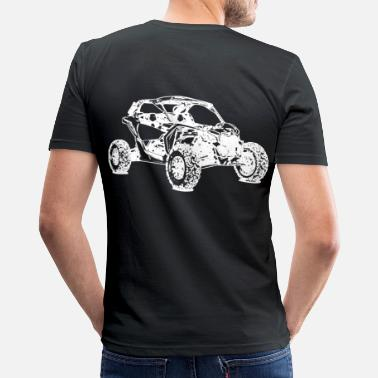 Utv ATV Side by Side Offroad - Männer Slim Fit T-Shirt