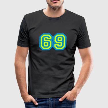 69 Sex - Männer Slim Fit T-Shirt