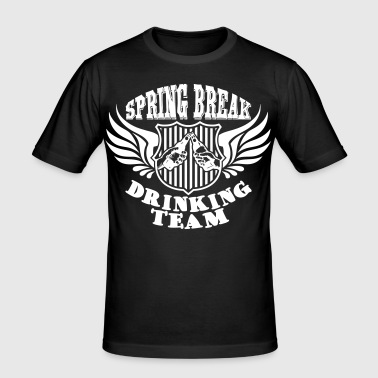 Spring Break Drinking Team - slim fit T-shirt
