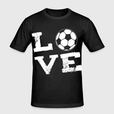 LOVE - voetbal - slim fit T-shirt