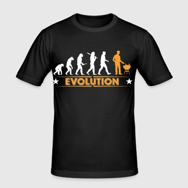 Barbecue - Grillmeister - Evolution - Männer Slim Fit T-Shirt