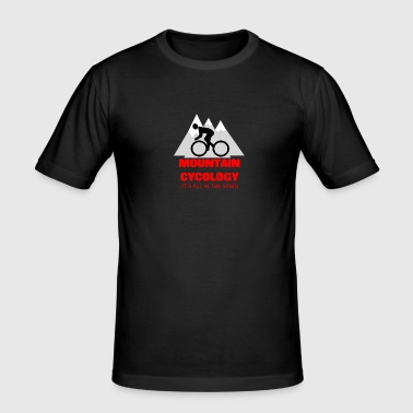 MOUNTAIN CYCLOGY - Men's Slim Fit T-Shirt