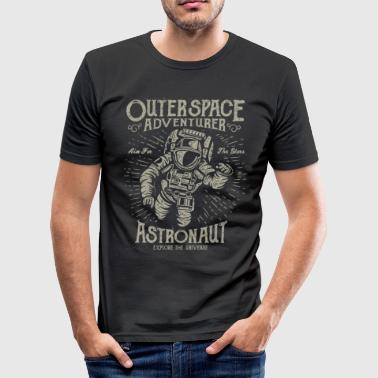 Astronaut - Outer Space - Space - Space - slim fit T-shirt