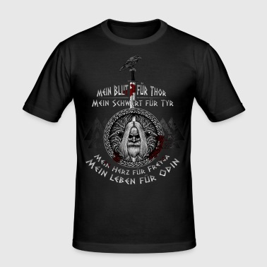 The Age of Odin! - Men's Slim Fit T-Shirt
