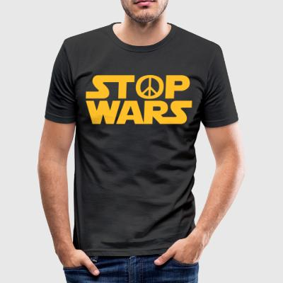 stop Wars - Men's Slim Fit T-Shirt