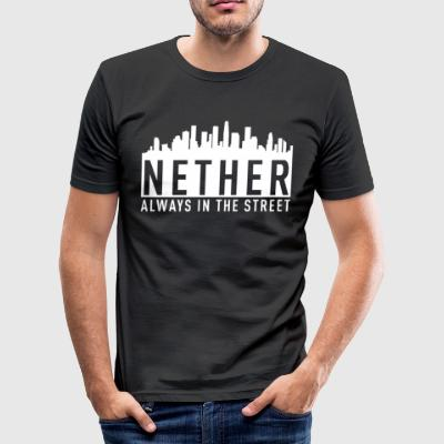 Nether - Alltid i gaten - Slim Fit T-skjorte for menn