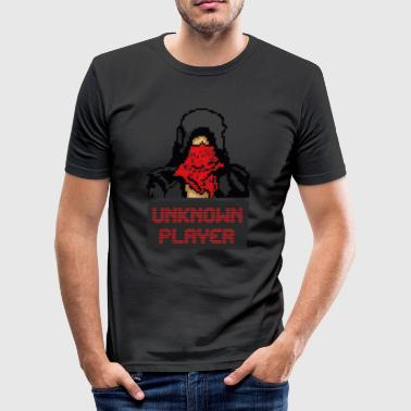PUBG - The Unknown Pixel - Männer Slim Fit T-Shirt