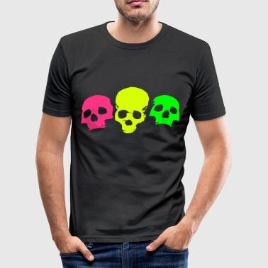 skulls-on-parade - Men's Slim Fit T-Shirt