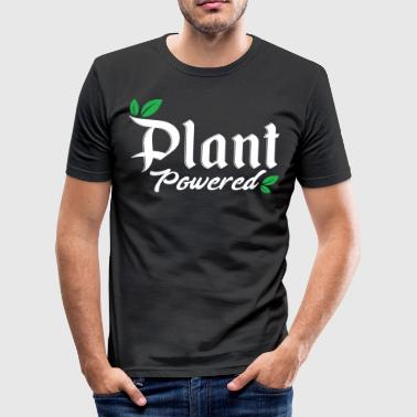 Energiecentrales vegan vegetariër veggies #vegan - slim fit T-shirt