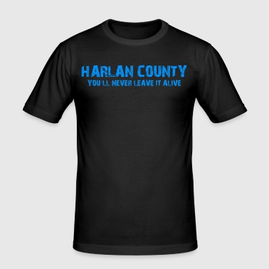 Shirt Harlan County - Men's Slim Fit T-Shirt