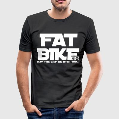 FATBIKE - MAY THE GRIP BE WITH YOU 1 - Men's Slim Fit T-Shirt