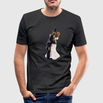 GHOST LOVE - Herre Slim Fit T-Shirt