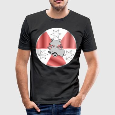 Atom 2nd Edition - Men's Slim Fit T-Shirt