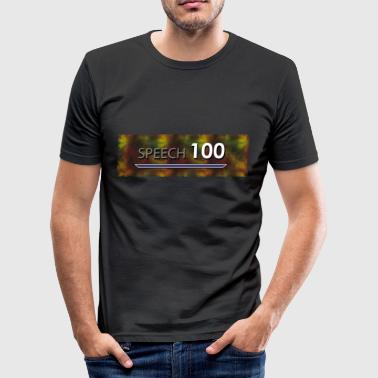 Bart Edman Game Meme Speech 100 - slim fit T-shirt