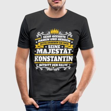His Majesty Constantine - Herre Slim Fit T-Shirt