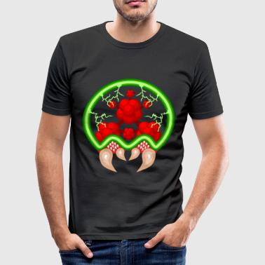 metroid - Slim Fit T-shirt herr