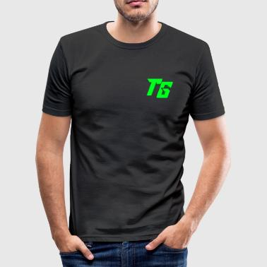 TristanGames logo merchandise - Men's Slim Fit T-Shirt