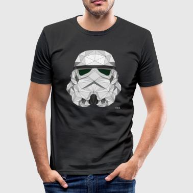 Stormtrooper logo - Herre Slim Fit T-Shirt