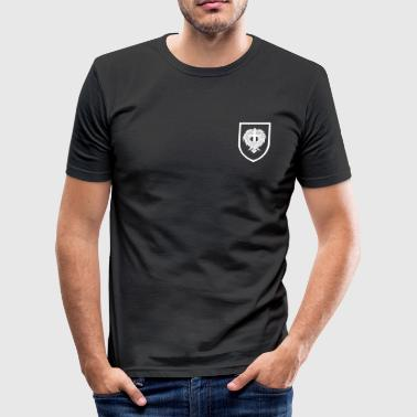 Fliege treues Logo - Männer Slim Fit T-Shirt