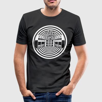 THE ONLY GOOD SYSTEM IS A SOUND SYSTEM - Men's Slim Fit T-Shirt