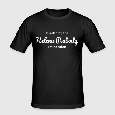 Funded by the Helena Peabody Foundation - Men's Slim Fit T-Shirt