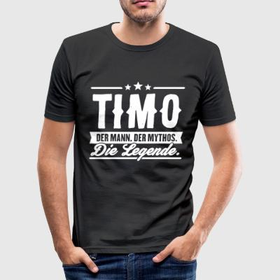 Man Myth Legend Timo - Slim Fit T-skjorte for menn