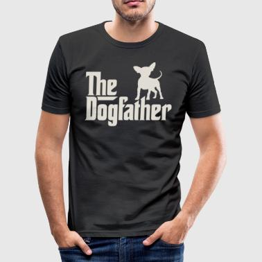 The Dogfather - Chihuahua - Männer Slim Fit T-Shirt