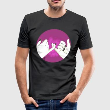 Pinky Promise - Men's Slim Fit T-Shirt