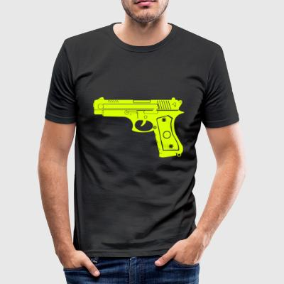 Pistal - Slim Fit T-shirt herr