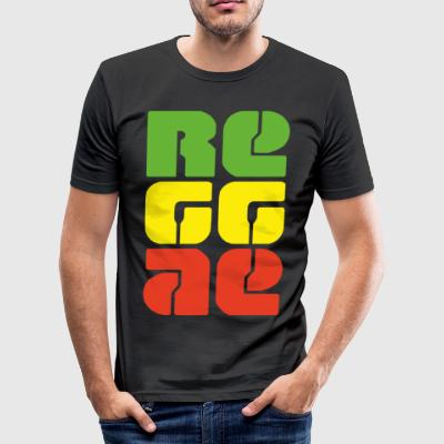 reggae - slim fit T-shirt