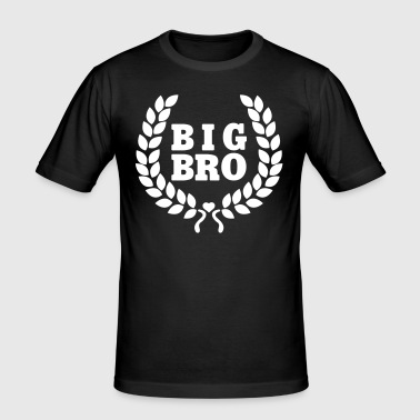 Big BRO - Big Brother - big brother - Men's Slim Fit T-Shirt