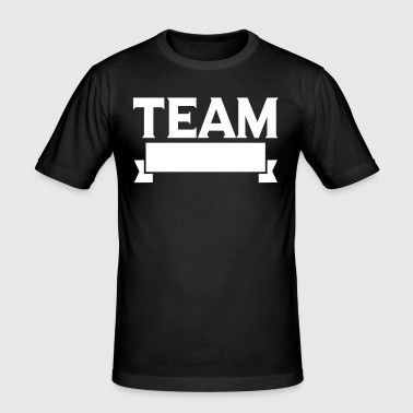 Team Banner - Men's Slim Fit T-Shirt