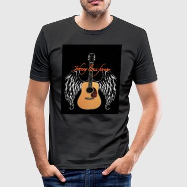 Johnny is eternal - Tee shirt près du corps Homme