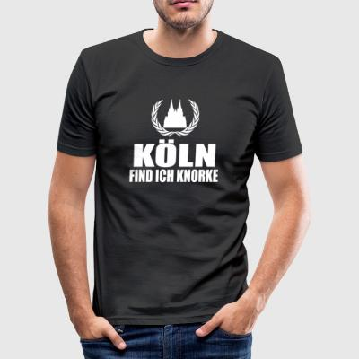 Cologne - Men's Slim Fit T-Shirt