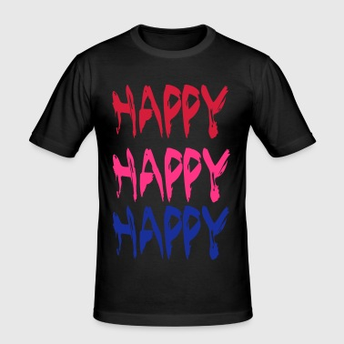 Happy - Slim Fit T-skjorte for menn