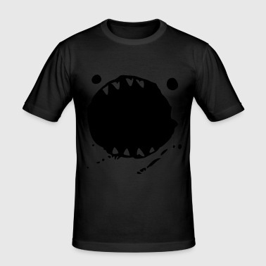 MONSTER MAUL - Männer Slim Fit T-Shirt