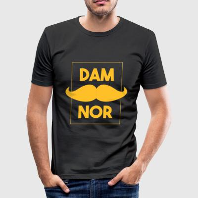 Damnor Gold (H) - slim fit T-shirt
