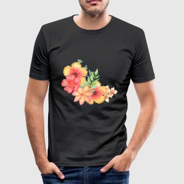 blomster - Herre Slim Fit T-Shirt