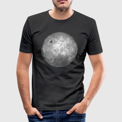The Far Side of the Moon (Men) - slim fit T-shirt